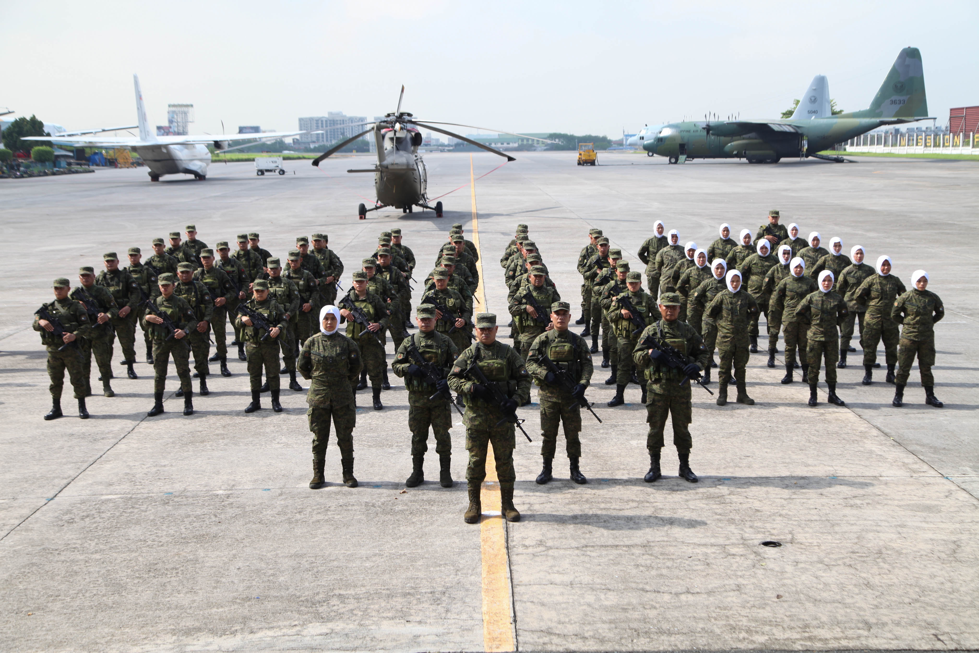 Army deploys additional troops to assist in Marawi rehabilitation