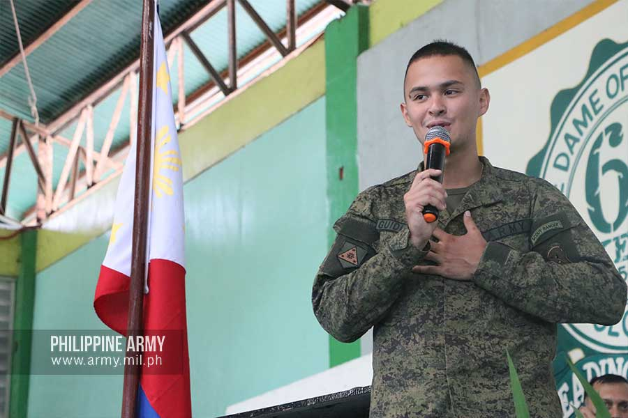 Army Reservist Guidicelli addresses youth's role in Preventing and Countering Violent Extremism