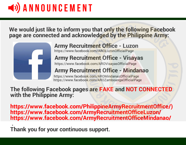 Join The Philippine Army