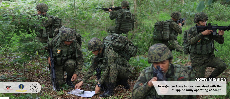 Filipina army