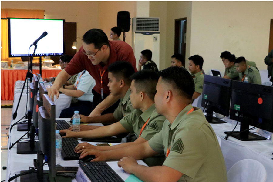Army conducts Cyber Security Subject Matter Exchange  with USARPAC