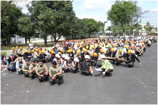 Army joins Nationwide Simultaneous Earthquake Drill