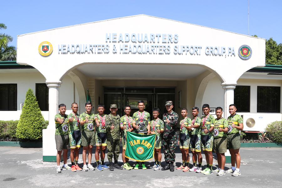 Philippine Army-Bicycology bags 2nd place overall   in Ronda Pilipinas 2018