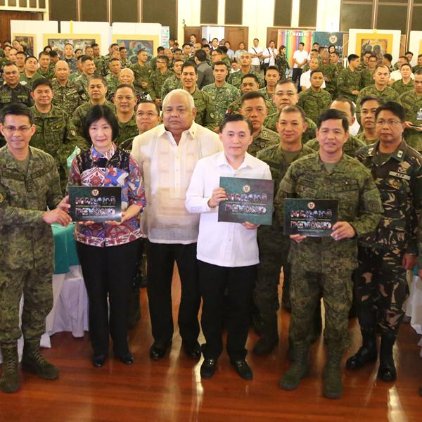 "Army launches the book  ""Marawi and Beyond: The Task Force Marawi Story"""